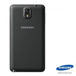 CACHE ARRIERE SAMSUNG GALAXY NOTE 3 N9005 NOIR D'ORIGINE
