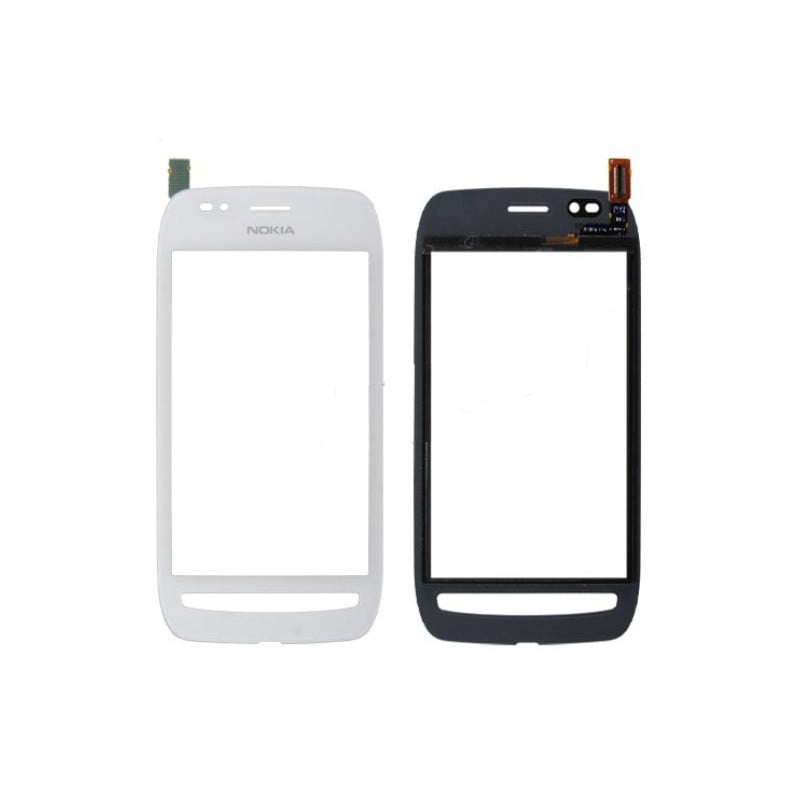 vitre tactile nokia lumia 710 blanche d 39 origine docteur smartphone r paration de smartphone. Black Bedroom Furniture Sets. Home Design Ideas