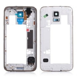 CONTOUR CHASSIS ARRIERE SAMSUNG GALAXY S5 MNI GRIS ORIGINAL