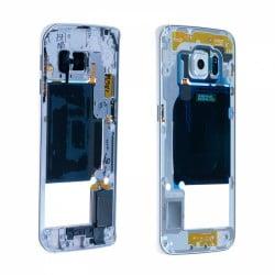 CHASSIS SAMSUNG S6 EDGE G925F BLANC CONTOUR CENTRAL D'ORIGINE