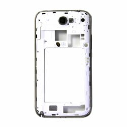 CONTOUR SAMSUNG NOTE 2 N7100 CHASSIS ARRIERE BLANC D'ORIGINE