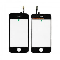 VITRE TACTILE NOIRE IPHONE 3GS DE QUALITE ORIGINALE
