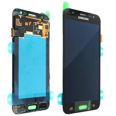 ECRAN SAMSUNG GALAXY J5 J500F LCD + VITRE TACTILE NOIR D'ORIGINE