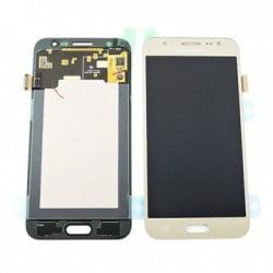 ECRAN SAMSUNG GALAXY J5 J500F LCD + VITRE TACTILE GOLD D'ORIGINE