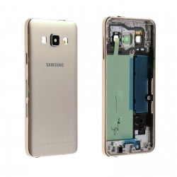 CACHE ARRIERE + CHASSIS CENTRAL SAMSUNG GALAXY A3 A300FU GOLD D'ORIGINE