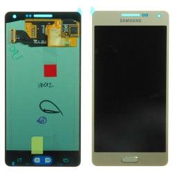 ECRAN SAMSUNG GALAXY A5 A500FU LCD + VITRE TACTILE GOLD D'ORIGINE