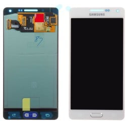 ECRAN SAMSUNG GALAXY A5 A500FU LCD + VITRE TACTILE BLANC D'ORIGINE