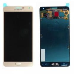 ECRAN SAMSUNG GALAXY A7 A00F LCD + VITRE TACTILE ARGENT D'ORIGINE