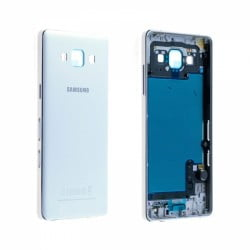 CACHE ARRIERE + CHASSIS CENTRAL SAMSUNG GALAXY A5 A500FU BLANC D'ORIGINE