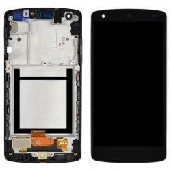 ECRAN LCD + VITRE TACTILE LG NEXUS 5 D820 NOIR D'ORIGINE