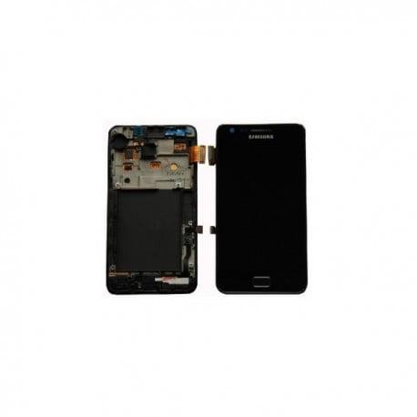 ECRAN LCD + VITRE TACTILE SAMSUNG GALAXY S2 I9100 D'ORIGINE NOIR