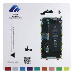 TAPIS DE VIS MAGNETIQUE DE DEMONTAGE POUR IPHONE 4