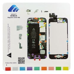 TAPIS DE VIS MAGNETIQUE DE DEMONTAGE POUR IPHONE 5