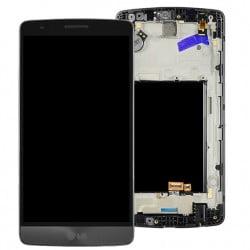 ECRAN LCD + VITRE TACTILE LG G3 D855 ORIGINAL GRIS