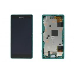 ECRAN LCD + VITRE TACTILE SONY XPERIA Z3 COMPACT D5803 ORIGINAL VERT