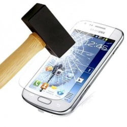 PROTECTION VERRE TREMPE SAMSUNG GALAXY CORE