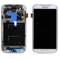ECRAN LCD + VITRE TACTILE SAMSUNG GALAXY S4 I9505 D'ORIGINE BLANC