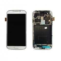 ECRAN LCD + VITRE TACTILE SAMSUNG GALAXY S4 ADVANCE I9506 D'ORIGINE BLANC