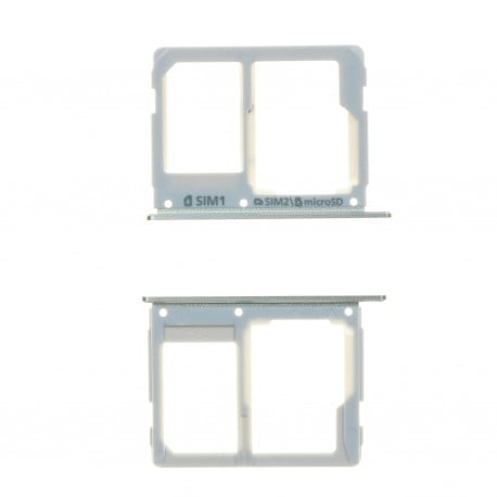 Trappe tiroir carte sim blanc pour Samsung GALAXY A3 2016 A310F d'origine
