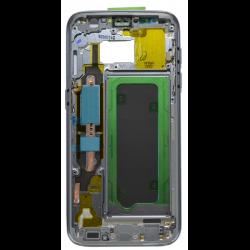 CHASSIS SAMSUNG S7 G930F NOIR CONTOUR CENTRAL D'ORIGINE