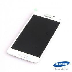 ECRAN LCD + VITRE TACTILE SAMSUNG GALAXY S5 MINI G800F D'ORIGINE BLANC