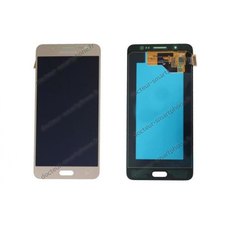 Bloc avant écran LCD et vitre tactile SAMSUNG GALAXY J5 (2016) SM-J510F, Or