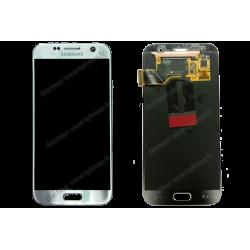 ÉCRAN LCD + VITRE TACTILE SAMSUNG GALAXY S7 GRIS D'ORIGINE SM-G930F