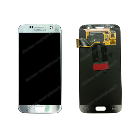 Ecran lcd original samsung s7 gris fournisseur et for Photo ecran galaxy s7