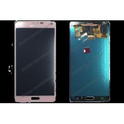 ÉCRAN LCD + VITRE TACTILE SAMSUNG GALAXY NOTE 4 ROSE SM-N910F D'ORIGINE