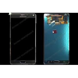 ECRAN LCD + VITRE TACTILE SAMSUNG GALAXY NOTE 4 N910F D'ORIGINE NOIR