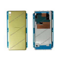 COQUE ARRIERE SONY XPERIA XA OR F3111 - F3112 ORIGINAL