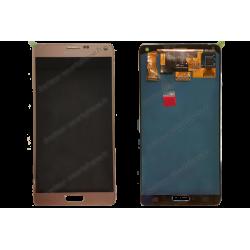 Écran LCD avec vitre tactille Samsung Galaxy NOTE 4 or d'origine SM-N910F