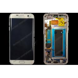 ECRAN GALAXY S7 EDGE BLANC G935F LCD ORIGINALE SAMSUNG