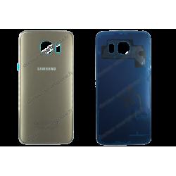 Vitre arrière Samsung Galaxy S6 or - G920F d'origine