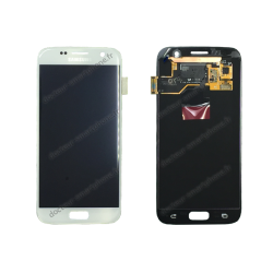 ECRAN LCD + VITRE TACTILE SAMSUNG GALAXY S7 G930F D'ORIGINE BLANC