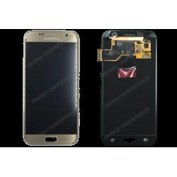 ECRAN SAMSUNG GALAXY S7 G930F LCD + VITRE TACTILE OR D'ORIGINE