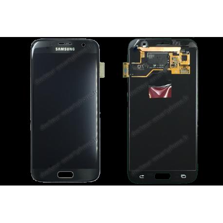 ECRAN LCD + VITRE TACTILE SAMSUNG GALAXY S7 G930F D'ORIGINE NOIR