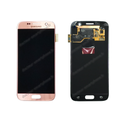 ÉCRAN SAMSUNG GALAXY S7 ROSE LCD + VITRE TACTILE D'ORIGINE SM-G930F