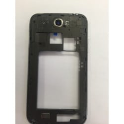 CONTOUR SAMSUNG NOTE 2 4G N7105 GRIS CHASSIS ARRIERE ORIGINAL