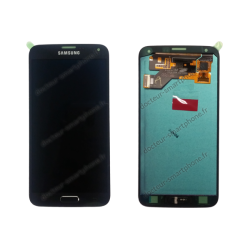 Écran Samsung Galaxy S5 Neo noir d'origine SM-G903F