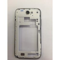CONTOUR SAMSUNG NOTE 2 4G N7105 BLANC CHASSIS ARRIERE ORIGINAL