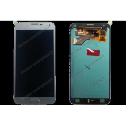 Écran Samsung Galaxy S5 Neo gris / argent d'origine SM-G903F
