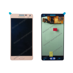 Écran Samsung Galaxy A5 rose LCD + vitre tactile d'origine (SM-A500FU)
