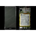 Bloc écran Huawei P9 noir (gris) d'origine EVA-L09