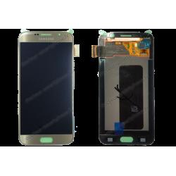 ÉCRAN SAMSUNG GALAXY S6 OR D'ORIGINE SM-G920F