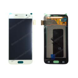 ÉCRAN SAMSUNG GALAXY S6 BLANC D'ORIGINE SM-G920F
