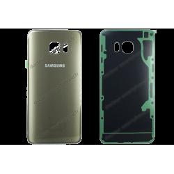 Vitre arrière Samsung Galaxy S6 EDGE PLUS or d'origine SM-G928F