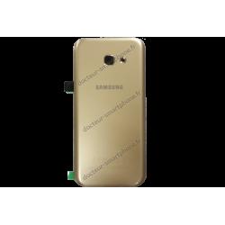 Vitre arrière pour Samsung Galaxy A5 2017 or d'origine (SM-A520F)