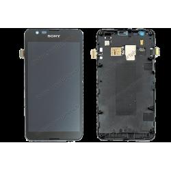 Écran pour Sony Xperia E4G noir ou blanc d'origine E2003 / E2033