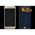 Bloc écran Lcd et vitre tactile Samsung Galaxy A3 2017 or d'origine - A320F